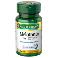 NATURES BOUNTY MELATONIN 1MG 180 tablets